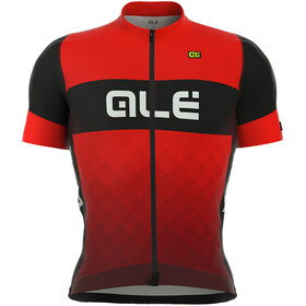 Alé Cycling R-EV1 Rumbles SS Jersey Men black-red